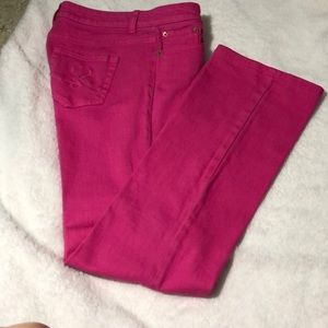 LILLY PULITZER  SZ 6 PINK JEANS